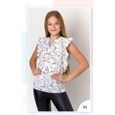 Блузка з рюшею