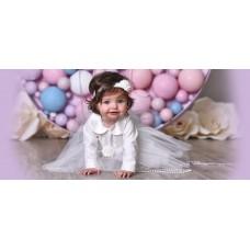 Сукня для новонародженої
