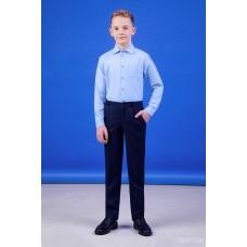 Штани сині фактурні