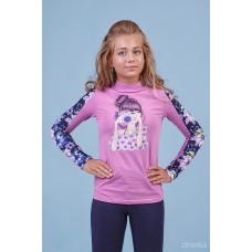 Джемпер фіолетовий