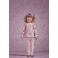 Комплект для дівчинки: жакет, штани р.86
