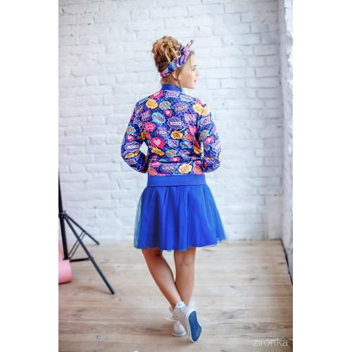 Комплект бомбер спідниця юбка джемпер реглан b4327c46f23e2