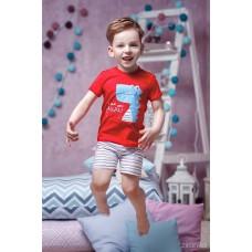 Піжама для хлопчика (червона футболка)