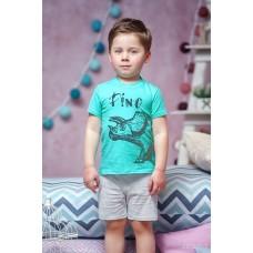 Піжама для хлопчика (принт діно)