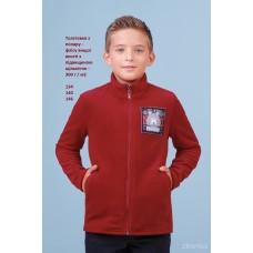 Куртка (толстовка, фліска) бордо