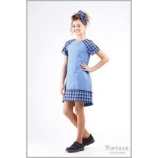 Сукня блакитна
