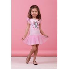Сукня рожева