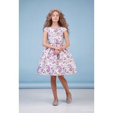 Сукня атласна з нижньою спідницею