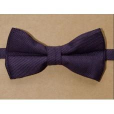 Краватка-метелик (баклажан)