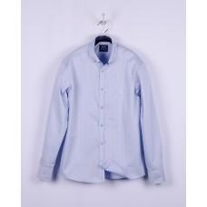 Сорочка блакитна смужка р.158-164